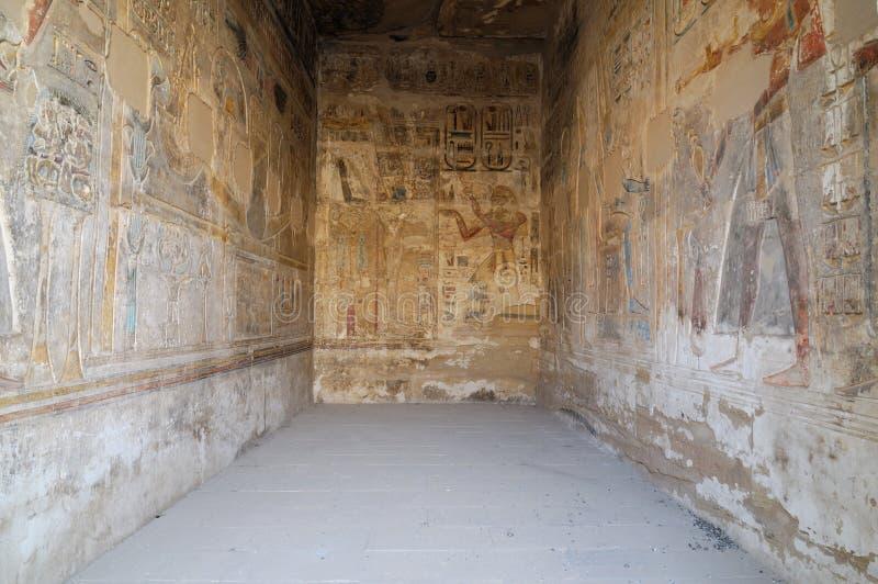 ΙΙΙ τάφος δωματίων ramses στοκ εικόνα