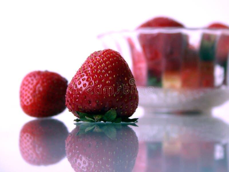 ΙΙΙ φράουλες στοκ φωτογραφίες