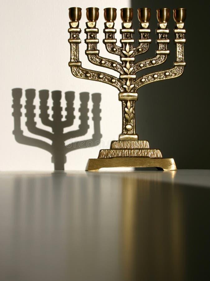 ΙΙΙ menorah στοκ εικόνα