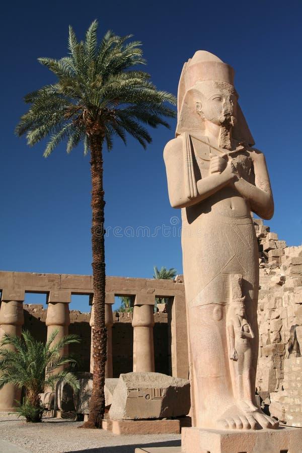 ΙΙ άγαλμα βασιλιάδων ramses στοκ εικόνες με δικαίωμα ελεύθερης χρήσης