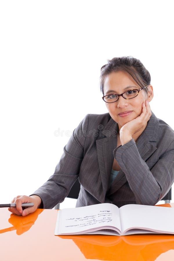 Ικανοποιημένος καθηγητής στοκ εικόνες με δικαίωμα ελεύθερης χρήσης