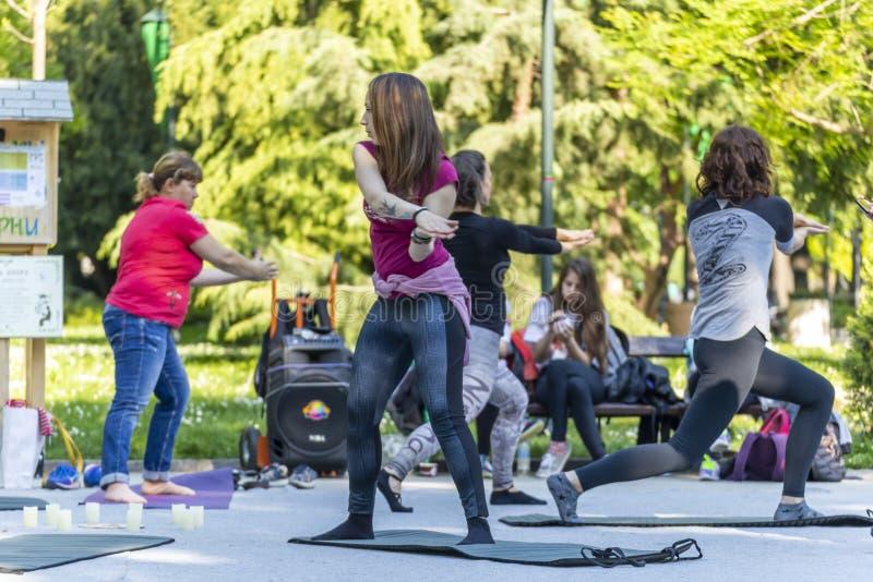 Ικανότητα νιρβάνα με την κατηγορία μουσικής στην οδό στοκ φωτογραφία με δικαίωμα ελεύθερης χρήσης