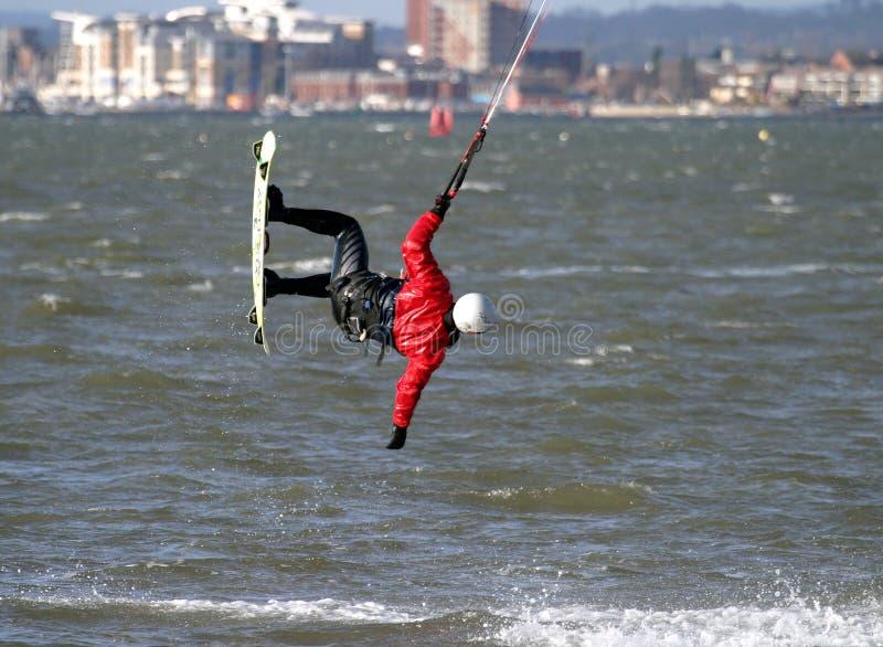 ικτίνος surfer στοκ εικόνα με δικαίωμα ελεύθερης χρήσης