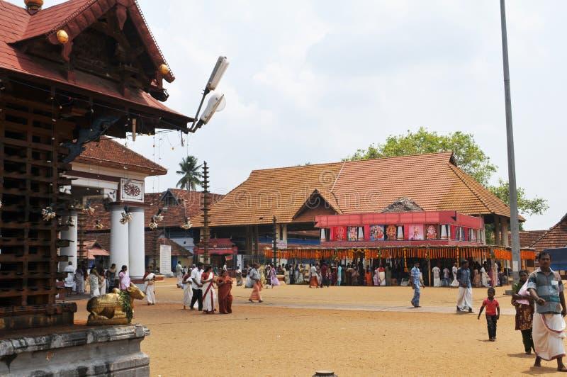Ινδία: Ένας βουδιστικός ναός σε Thiruvananthapuram στο Κεράλα στοκ φωτογραφίες
