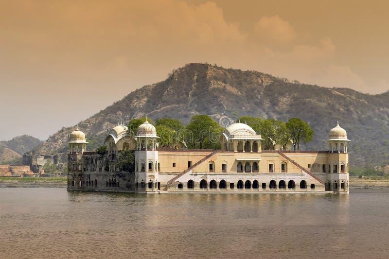 Ινδία Jaipur jal mahal στοκ φωτογραφία με δικαίωμα ελεύθερης χρήσης