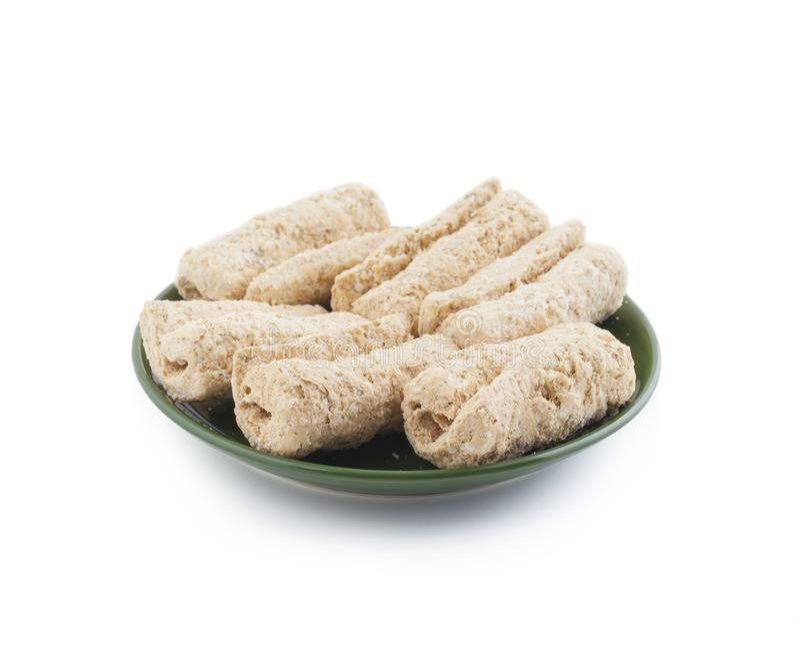 Ινδικά γλυκά ξηρά τρόφιμα Gajak στοκ φωτογραφία με δικαίωμα ελεύθερης χρήσης