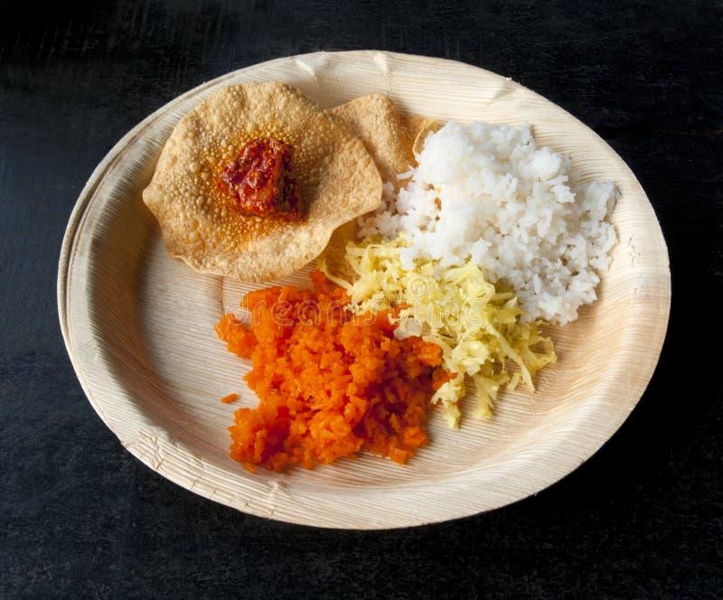 Ινδικά παραδοσιακά τρόφιμα. Goa στοκ φωτογραφία με δικαίωμα ελεύθερης χρήσης