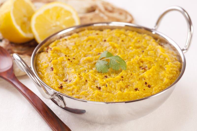 Ινδικά τρόφιμα Dhal στοκ φωτογραφία με δικαίωμα ελεύθερης χρήσης