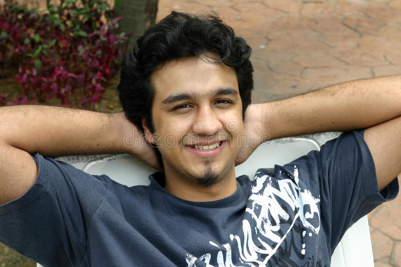 ινδικές νεολαίες ατόμων στοκ εικόνες