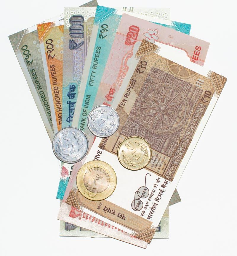 ινδικές σημειώσεις νομίσ&m στοκ φωτογραφίες
