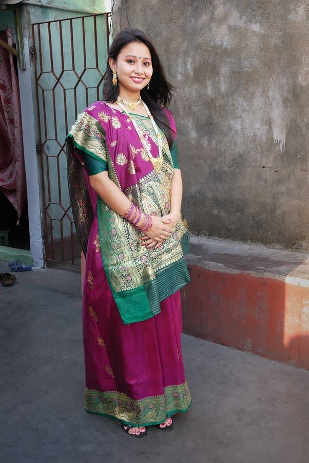 ινδική γυναίκα στοκ εικόνες