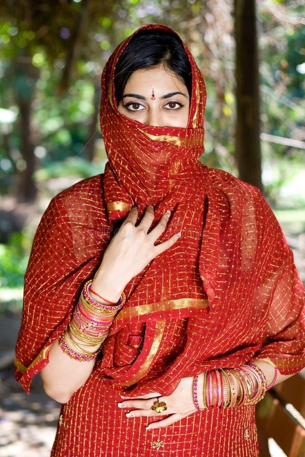 ινδική γυναίκα στοκ φωτογραφίες