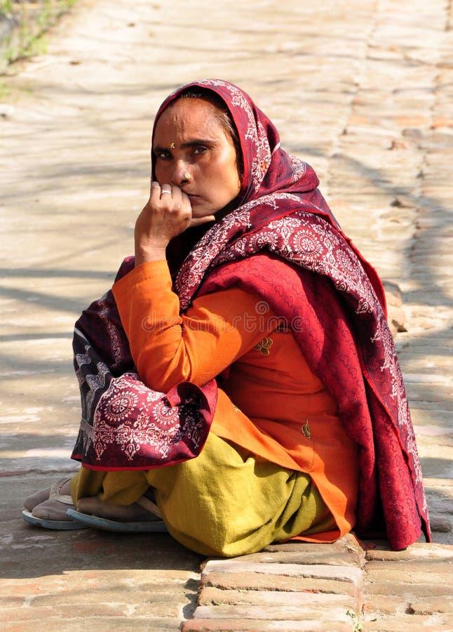 ινδική κυρία banjaran στοκ φωτογραφίες