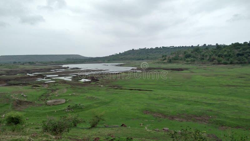Ινδική ομορφιά και λίμνη φύσης στοκ φωτογραφία με δικαίωμα ελεύθερης χρήσης