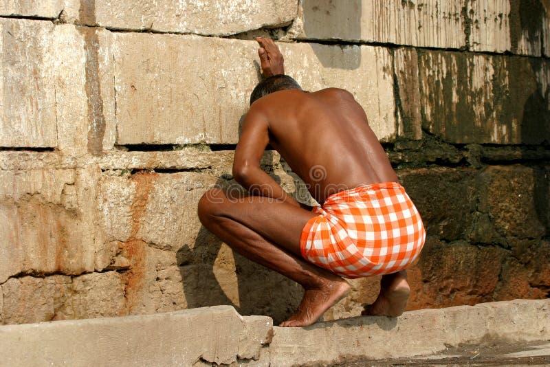 ινδική τουαλέτα στοκ εικόνα με δικαίωμα ελεύθερης χρήσης