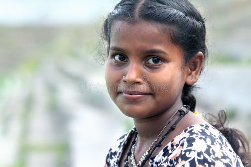 ινδικός εφηβικός κοριτσ&io στοκ εικόνες