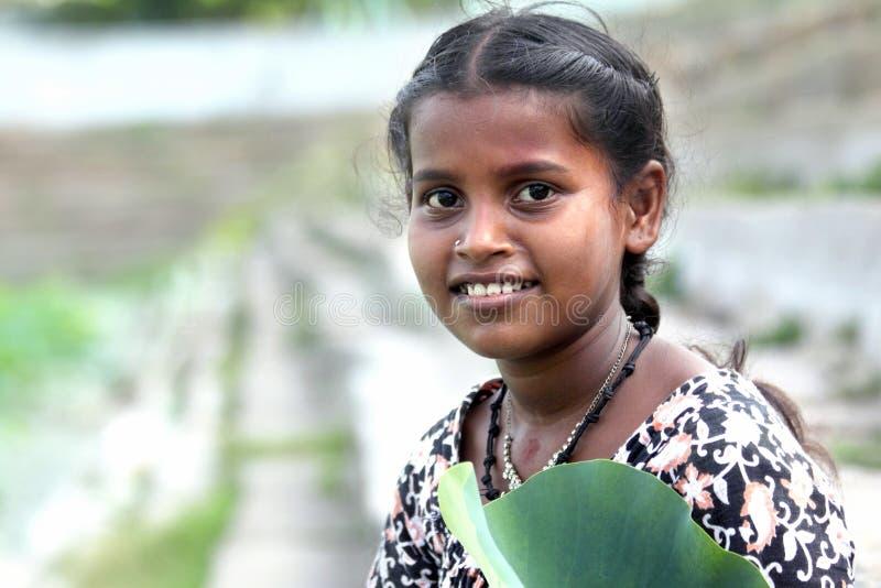 ινδικός εφηβικός κοριτσ&io στοκ φωτογραφίες
