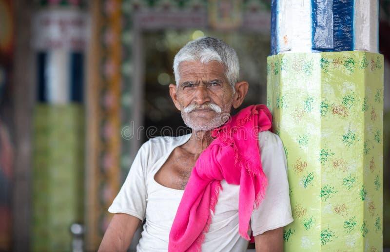 Ινδικός ιερέας στοκ φωτογραφία με δικαίωμα ελεύθερης χρήσης