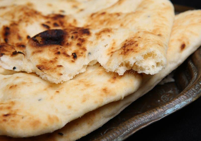 ινδικός naan ψωμιού στοκ φωτογραφία με δικαίωμα ελεύθερης χρήσης