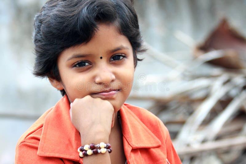 Ινδικό έφηβη στοκ εικόνες με δικαίωμα ελεύθερης χρήσης