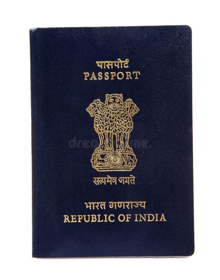 ινδικό διαβατήριο στοκ φωτογραφία
