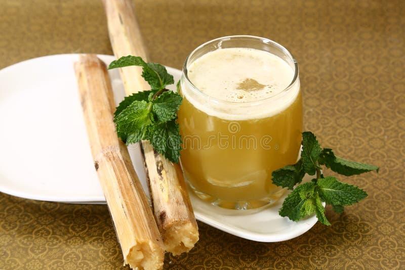 Ινδικό θερινό ποτό χυμού ζαχαροκάλαμων στοκ φωτογραφίες με δικαίωμα ελεύθερης χρήσης