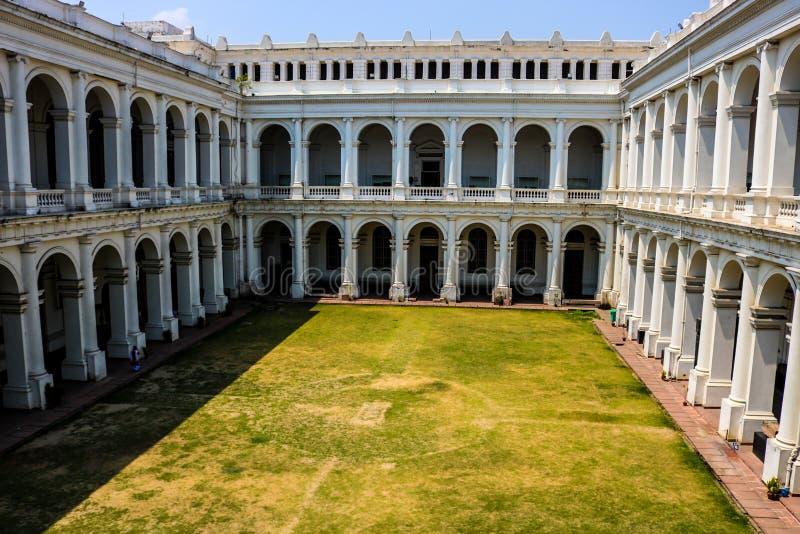 Ινδικό μουσείο μέσα στην άποψη, Kolkata στοκ εικόνες