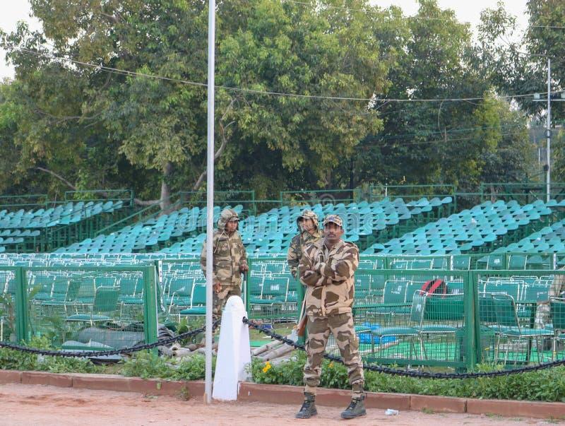 Ινδικό στρατιωτικός προσωπικό στοκ φωτογραφία με δικαίωμα ελεύθερης χρήσης