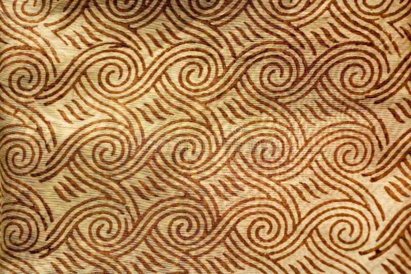 ινδικό τυπωμένο μετάξι στοκ εικόνες