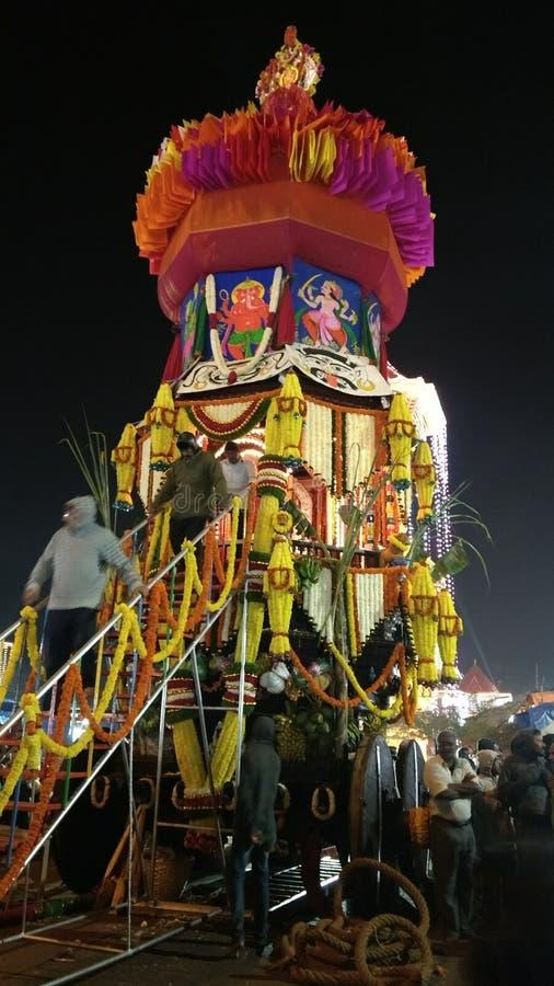 Ινδικό φεστιβάλ ναών fatarpa goa παράδοσης ker στοκ εικόνα με δικαίωμα ελεύθερης χρήσης