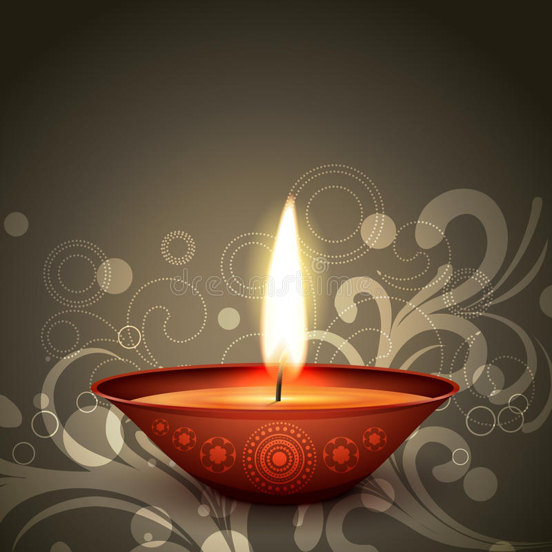 Ινδικό diwali φεστιβάλ ελεύθερη απεικόνιση δικαιώματος