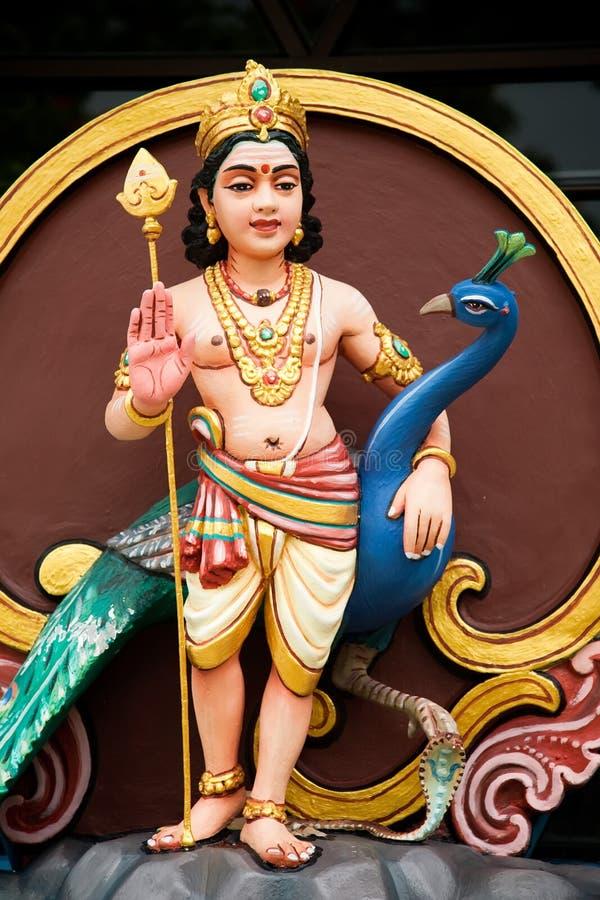 ινδικό peacock θεότητας στοκ εικόνες