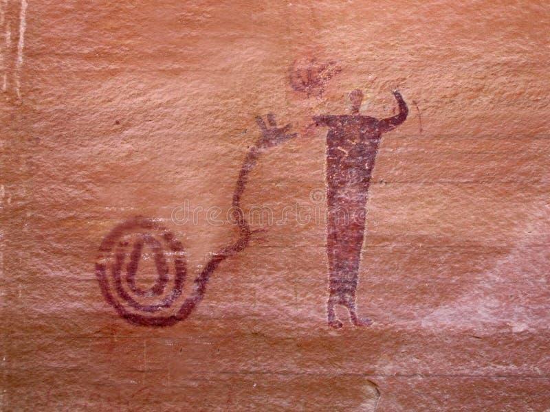 ινδικό petroglyph στοκ εικόνες