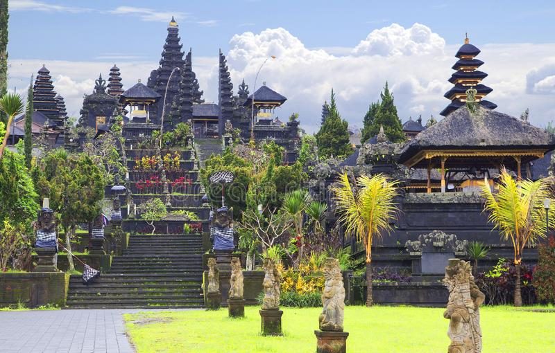 Ινδονησία πρεσών Ο ναός Pura Besakih στοκ φωτογραφία