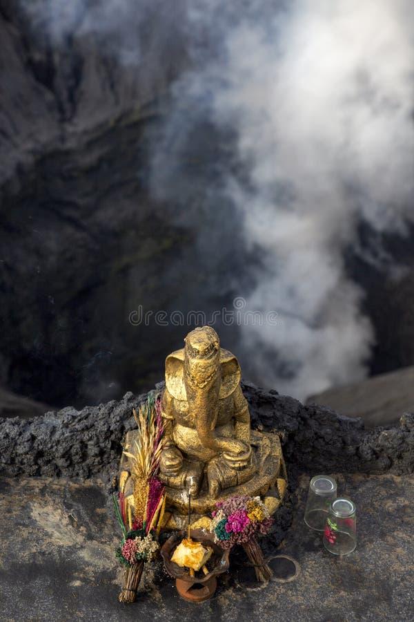 Ινδός βωμός Bromo στοκ φωτογραφία