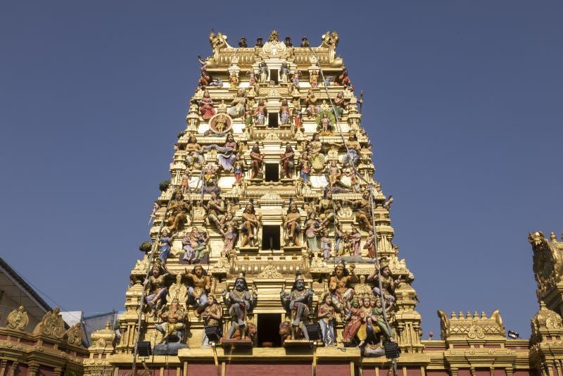 Ινδός ναός στην περιοχή Pettah Colombo, Σρι Λάνκα στοκ εικόνες με δικαίωμα ελεύθερης χρήσης
