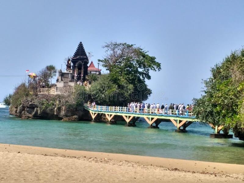 Ινδός ναός Kambang δεμάτων στοκ εικόνες