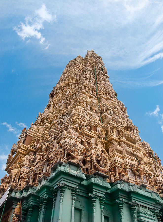 ινδός ναός sri lanka στοκ εικόνες με δικαίωμα ελεύθερης χρήσης