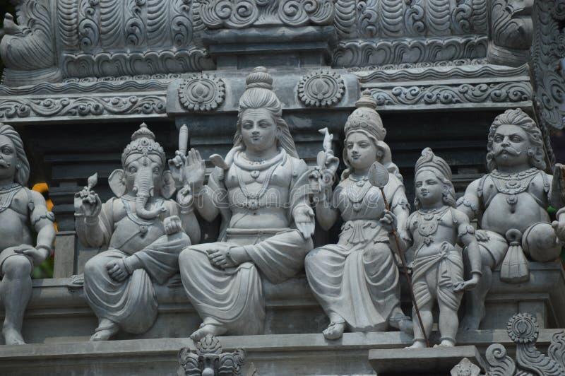 Ινδό άγαλμα θεοτήτων στις σπηλιές Μαλαισία Batu Λουμπούρ, Ινδία στοκ φωτογραφία με δικαίωμα ελεύθερης χρήσης