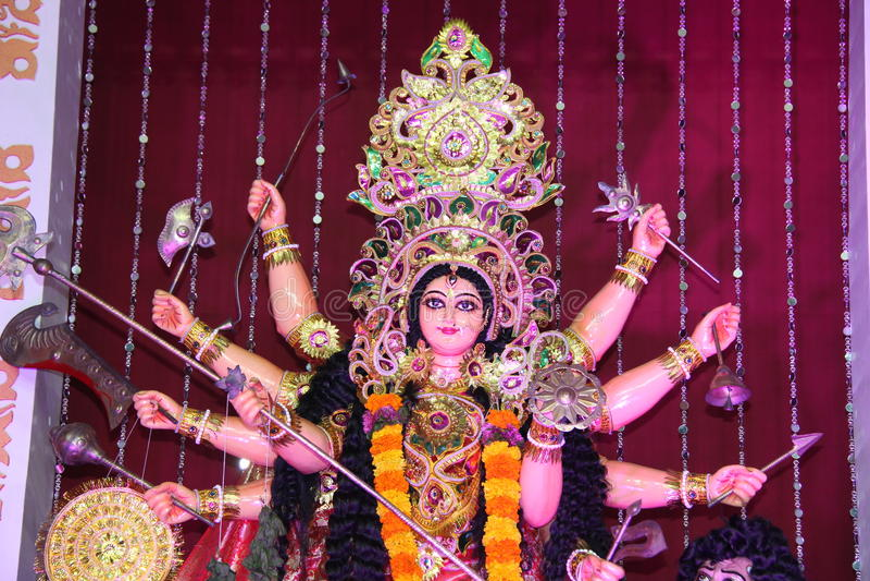 Ινδή θεά στοκ εικόνα