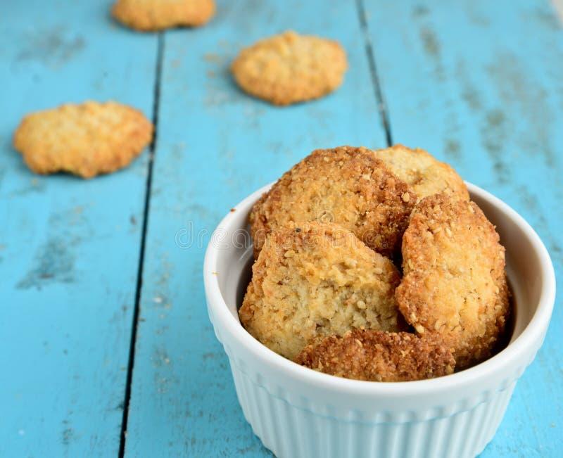 Ινδικά μπισκότα καρύδων στοκ φωτογραφία με δικαίωμα ελεύθερης χρήσης