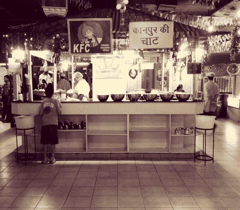 Ινδική κουζίνα της Desi Kfc itsfingerlickin& x27 καλός στοκ εικόνες με δικαίωμα ελεύθερης χρήσης