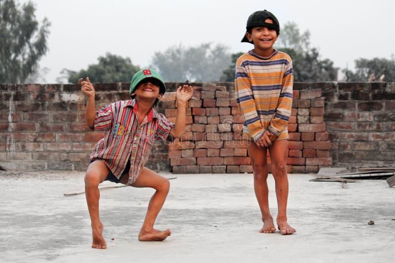 Ινδική παιδική ηλικία στοκ φωτογραφίες με δικαίωμα ελεύθερης χρήσης
