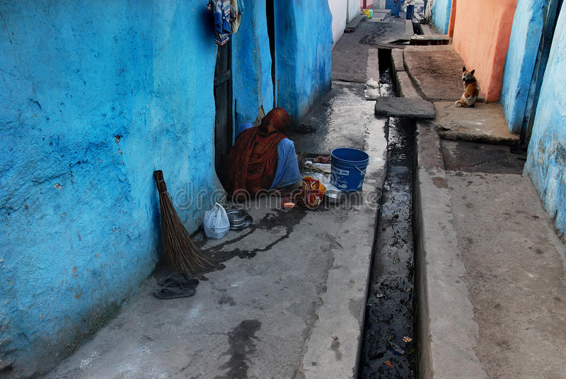 Ινδική περιοχή τρωγλών στοκ φωτογραφία με δικαίωμα ελεύθερης χρήσης