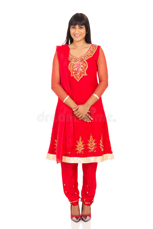 ινδική όμορφη γυναίκα στοκ φωτογραφία