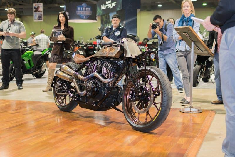 Ινδική 2015 RSD μοτοσικλέτα συνήθειας στοκ εικόνες