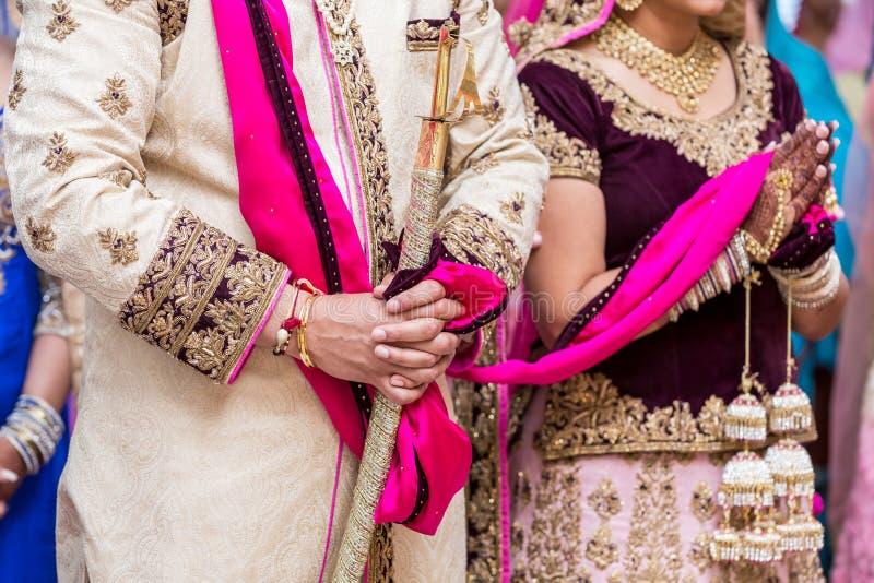 ινδικός γάμος στοκ φωτογραφία