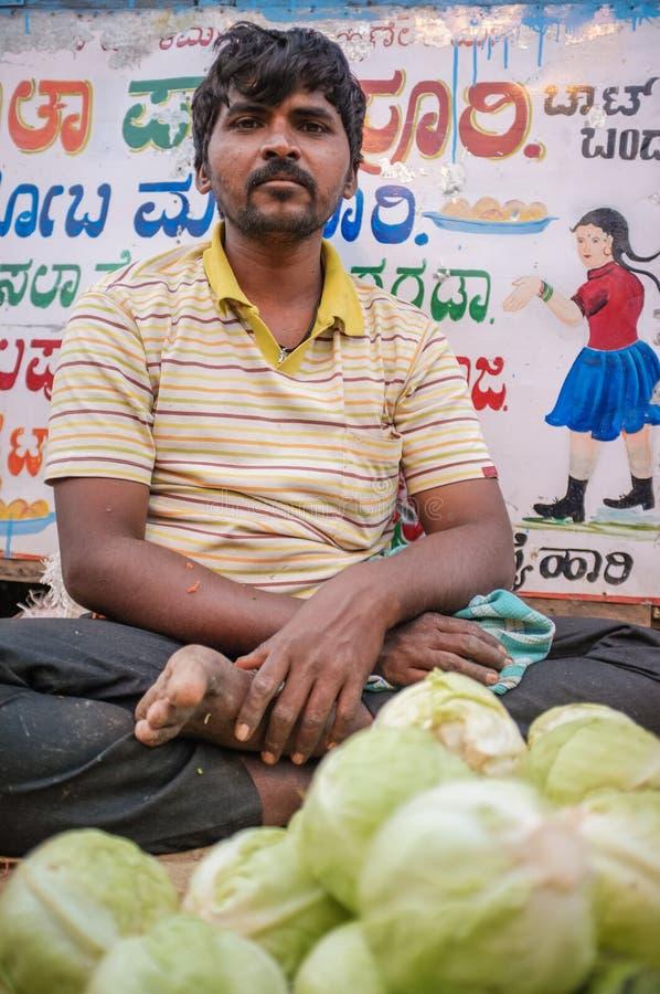 Ινδικός προμηθευτής στοκ εικόνα με δικαίωμα ελεύθερης χρήσης