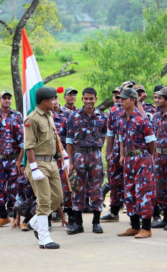 Ινδικός στρατός, στρατιώτες, οπλισμένες δυνάμεις στοκ φωτογραφία με δικαίωμα ελεύθερης χρήσης