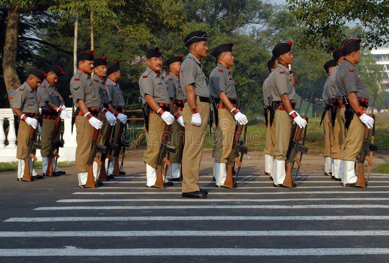 Ινδικός στρατός στοκ φωτογραφίες